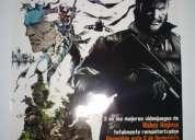 Posters de videojuegos: metal gear solid y pes 2012
