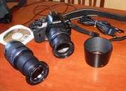 Vendo camara reflex digital olympus e-410