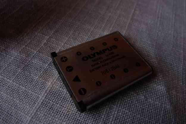 Bateria Y Cargador Camara Olympus Fe-220