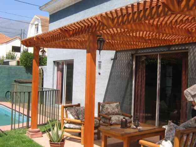 Cobertizos terrazas p rgolas santiago doplim 41360 for Cobertizos segunda mano