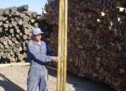Polines palos para rejas de parcela impregnados a la venta