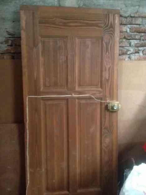 vendo puerta de madera acceso principal temuco doplim