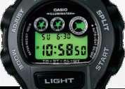 casio trt 100 / sumergible /cronometro/ alarmas /nuevos sellados /