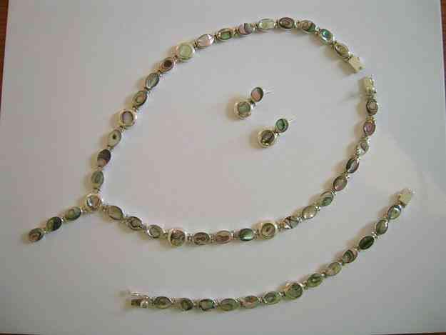 joyas de plata y piedras semipreciosas