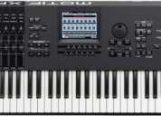 Sintetizador yamaha motif xf7