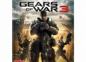 Vendo juego gear of war 3 para xbox en 26 mil original¡¡¡¡¡¡¡¡