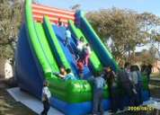 Juego inflable tobogán de 6 m de altura