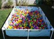 Vendo piscina con 1200 pelotitas de colores