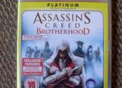 Assassins creed brotherhood ps3, 100% nuevo y sellado