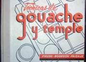 Tecnicas gouache y temple