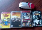 Juegos y carcasa god of war exclusiva psp