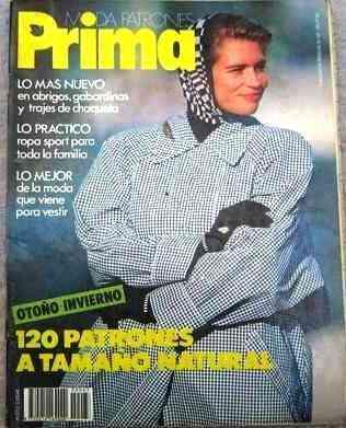Revistas PRIMA Españolas Confecciones (Patrones)
