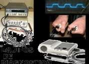 Osciloscopio para medir el voltaje