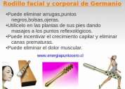 Rodillo facial y corporal de germanio