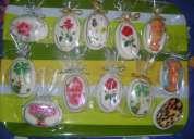 Vendo jabones de tocador decorados, utilizables