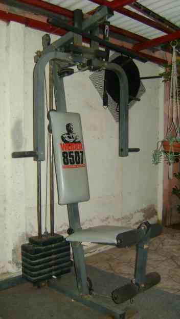 maquina de ejercicios multifuncional weider 8507