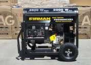 Generador diesel 5,2 kva