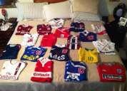 Colección de camisetas de futbol