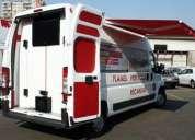 Conversion transformacion de vehiculos mini buses ambulancias  butacas