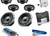Equipo de sonido para tu vehiculo oportunidad