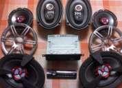 Radio sony con parlantes
