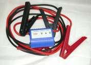 Cable roba corriente con detección de polos evita errores de conexión
