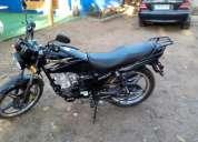 Vendo moto año 2012 modelo hj-125-7