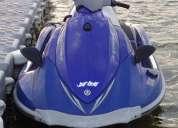 Moto de agua  yamaha vx  deluxe azul.   año 2008