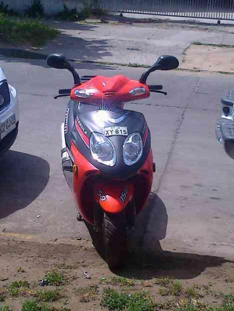 se vende moto marca jincheng modelo JC 150T 8 AÑO 2009