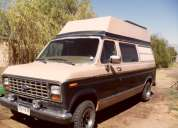 Motorhome ford club wagon año 89