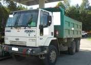 Camiòn ford cargo 2932e 6x4 año 2008 con tolva de 14m3