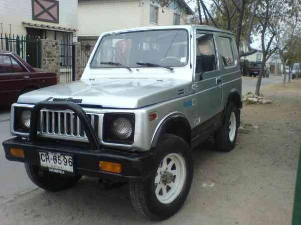 vendo jeep suzuki samurai sj410