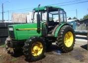 Vendo  tractor jhon deere 2800 aÑo 1995 4 x 4