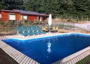 arriendo cabaÑa con piscina privada  7 personas camino villarrica - pucon