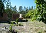Vendo parcela de 11.000 mts2.  luz,agua, quinta, casa en obra gruesa