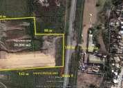 Vendo terreno  casi 2 hÁ.  a 5 minutos de serena norte ruta 5