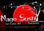 Se busca socio para sushi.