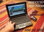 Servicio tecnico para notebook. formateo- instalacion de sistema operativo windows.