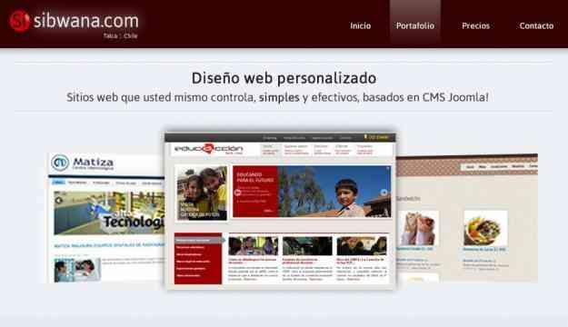 Sitios web personalizados - Diseño  de páginas web de Talca para Chile