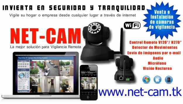 INSTALAMOS CAMARAS DE SEGURIDAD IP