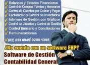 Software de contabilidad, servicios contables y tributarios