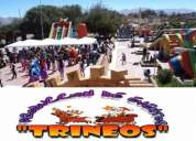 arriendo juegos inflables - trineos