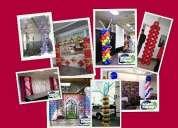 Somos globoschile , decoracion globos 15 años:decoracion fiestas cumpleaños