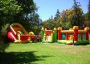 Arriendo castillo y toboganes inflables y camas elasticas   **karolyn**