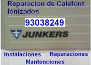 Reparaciones de calefont junker ionizados
