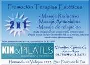 Masajes de relajación, reductivos y anticeluliticos ( kinesióloga especialista