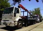 Arriendo camion grua pluma