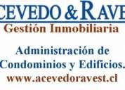 Administración de condominios y edificios.