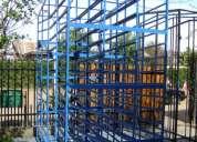 estructuras para transporte de bandejas