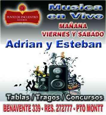 Punto de Encuentro llena de musica las noches Puertomontinas.
